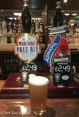 August 15th, 2018 Today's Tipple - Maharaja Pale Ale (karenblakeman) Tags: baroncadogan pub caversham uk beer ale westberkshirebrewery maharajapaleale adnams broadside 2018 2018pad august reading berkshire
