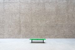 Bench (Bernd Walz) Tags: bench space emptiness calmness silence contemplation gallery königgalery stagnes berlin architecture