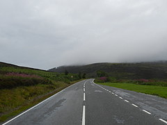 Mist and Rain on Struie Hill, Aug 2018 (allanmaciver) Tags: mist rain struie hill grey road route quiet markings atmosphere damp driving allanmaciver scotland