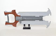 Redeemer - Warframe (ExclusivelyPlastic) Tags: lego warframe video game weapon scifi sword gunblade digital extremes