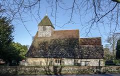 St_Martins_Westmeston-1 (dandridgebrian) Tags: sussex westmeston church sussexchurch southdowns