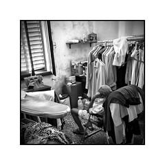 Solitude (Luca Cesari) Tags: sony sonya6000 a6000 ilce6000 20mm bw biancoenero solitudine solitude room stanza