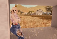Ghost Town (Serena Reins) Tags: confession photography poses pics dessert ghost town kraftwork sass slink hourglass sunglasses catwa catya