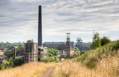 Chatterley Whitfield colliery 05 jun 18 (Shaun the grime lover) Tags: hdr chimney derelict industrial colliery coal mine chatterleywhitfield chell tunstall staffordshire pithead