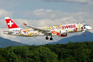 HB-JCA  Swiss International Air Lines Bombardier CSeries CS300 (BD-500-1A11)