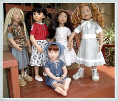 2018 Sew-Along Group Photo (ImGeorgiaGirl) Tags: maru zwergnase agat doll