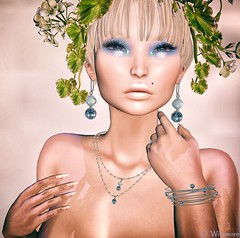 Chop Zuey - Charlotte's Aire - TxChnge Set @ Swank Event - August 2018 (Ombrebleue Winsmore) Tags: chopzuey swank jewels set necklace ring earrings bracelets event gold silver