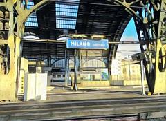 Milano 🚉 singboard (LorGar99) Tags: singboard milano cartello stazione railwaystation treno train prisma