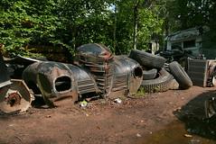 (theleakybrain) Tags: p1710898 kesslersautosalvage earl wi junkyard boneyard yard junk classic car rust decay patina
