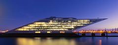 Dockland Building (PhotoChampions) Tags: architecture architektur building gebäude harbour hafen water wasser germany deutschland bluehour blauestunde hamburgerhafen city cityscape