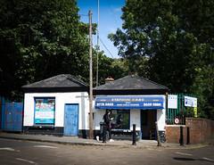 Station Cars, Crystal Palace Station (London Less Travelled) Tags: uk unitedkingdom england britain london southlondon city urban crystalpalace cars taxi shop parade station street