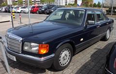 W126 (Schwanzus_Longus) Tags: bremen german germany car vehicle old classic vintage sedan saloon mercedes benz s class klasse w126