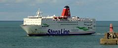 18 08 10 Stena Europe arriving Rosslare (10) (pghcork) Tags: stenaline ferry ferries carferry stenaeurope ireland wexford rosslare ships shipping
