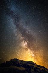 Milkyway over Kammleiten (mad_airbrush) Tags: 5d 5dmarkiii austria österreich mountains berge nassfeld kammleiten milkyway stars night sky 2470mm ef2470mmf28lusm longexposure langzeitbelichtung astro astrofotografie ngc