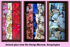 The Design Musum, Kensington - Jan 2017 (08) (Padski1945) Tags: thedesignmuseum kensingtonhighstreet kensington londonw86ag londonmuseums londonscenes museumsoflondon museumsofgreatbritain museumsofbritain museumsofengland stainedglasswindow stainedglasswindows stainedglass glass triptych