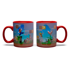 Super Mario Bros Heat Changing Red Mug (mywowstuff) Tags: gifts gift ideas gadgets geeky products men women family home office