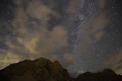 DSC_4846 (Stefano Dorigo) Tags: tofane passo falzarego iso 6400 11 agosto 2018 stars stelle night notte 14mm nikon d610 nuvole montagne mountains