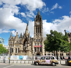 Manchester Town Hall (Victor O') Tags: manchester town hall united kingdom uk