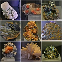 Minerals and Gems, Earth's Treasures, Royal Ontario Museum, Toronto, ON (Snuffy) Tags: mineralsandgems earthstreasures royalontariomuseum rom toronto ontario canada autofocus