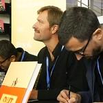 Edinburgh International Book Festival 2018 - John Dunning Michael Kennedy and Javi Rey 08 thumbnail