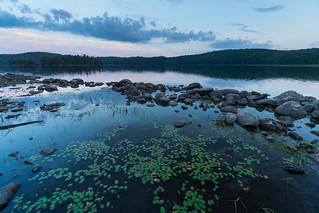 Twilight on Parkside Bay