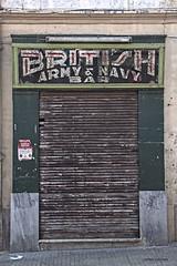 British Army & Navy Bar (Joseph Lanzon) Tags: tearoom hamrun malta bar british army navy sign
