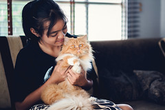 Asian girl with beautiful persian cat at home (Patrick Foto ;)) Tags: animal asian beautiful cat cheerful close concept cute domestic female girl happy home kitten kitty leisure lifestyle lovely nice owner peaceful persian person pet playing pretty pussycat relax relaxation smiling teen teenage teenager thai woman young bangkok krungthepmahanakhon thailand th