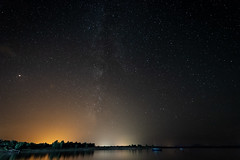 Cielo sobre Gabriel y Galan (Eduardo Estéllez) Tags: gabrielygalan boat sailboat water shore swamp reservoir lake milkyway night sky forest stars star background galaxy space over nature landscape travel silhouette outdoor nighttime universe astrophotography astronomy granadilla extremadura spain caceres beautiful dark beauty summer starry light natural colorful bright outer black blue cosmos nebula scene science vialactea estellez eduardoestellez