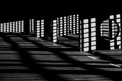 light and space 1 (ro_ha_becker) Tags: shadows architecture architektur monochrome leitzelmar3535cm sonya6000 zwartwit schwarzweiss biancoenero blancetnoir blackandwhite blancoynegro
