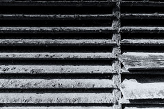 Barn 5 (toniertl) Tags: tertlphotoxoncouk barn bicester oxfordshire monochrome blackandwhite bw farm derelict contrast blue field