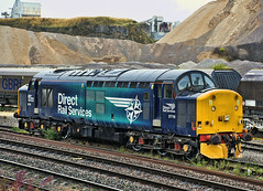 37716 (Tony Lowther) Tags: 37717 drs peakforest 2018 directrailservices locomotive train class37