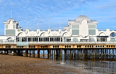 South Parade Pier (RapidSpin) Tags: deepblue pier victorian architecture seaside coast building structure beach southparadepier