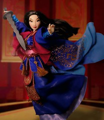 Honor to us ALL (They Call Me Obsessed) Tags: mulan doll limited edition diseny disney store princess princesses