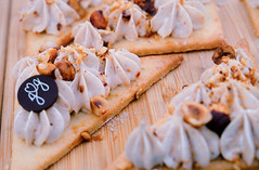 French pastry (ella.o) Tags: food dessert pastry cream almonds sugar chocolate