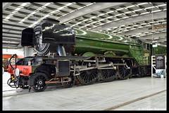 No 60103 Flying Scotsman 12th July 2018 Locomotion Shildon (Ian Sharman 1963) Tags: no 60103 flying scotsman 12th july 2018 locomotion shildon class a3 462 steam engine railway rail railways train trains loco locomotive museum