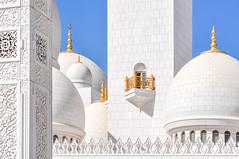 Pureté - Purity (Docaron) Tags: emirats emirates abudhabi aboudabi aboudhabi aboûdabî أبوظبي mosquée mosque architecture islam sheikhzayed dôme dome marbre marble blanc white dominiquecaron uae szgm