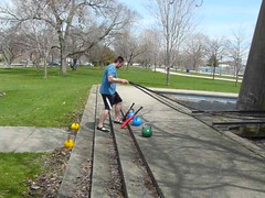 Battling Ropes Exercise (personaltrainertoronto) Tags: workout personaltrainer training strength battling ropes fitness fit fitnessmodel muscle bodybuilding