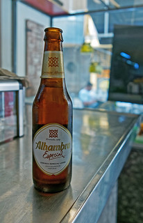 Bottle of Alhambra Especial (Cafe Suizo - Valencia) Panasonic LX100