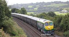 Irish Rail 226 approaching.. (Fred Dean Jnr) Tags: irishrail 226 belmondgrandhibernian mallow cork august2016 iarnrodeireann 201class mkiii