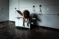 Beating Words like Wings (sadandbeautiful (Sarah)) Tags: me woman female self selfportrait abandoned prison medical