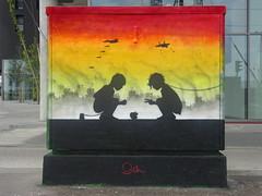 Otto Schade (juillet 2018) (Archi & Philou) Tags: streetart paris13 ottoschade galeriegca osch boîteàfeux enfant