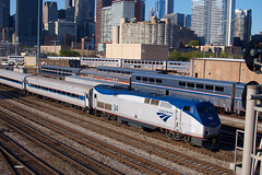 180506_03_AMTK34_850hs_Chi (AgentADQ) Tags: amtrak passenger train trains chicago illinois union station hoosier state 850