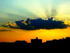New York Sunset (dimaruss34) Tags: newyork brooklyn dmitriyfomenko image sky clouds sunset sunrays people children