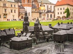 Scale Model of Wawel Cathedral (Katedra Wawelska) in Krakow (ctj71081) Tags: cathedral church krakow poland scalemodel wawel