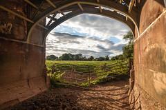 A view from a Culvert! (Macro light) Tags: worcester riverteme temebridge battleofworcester culvert sandstone