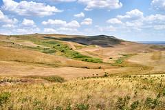 Hills, fields, meadows, sky with clouds Stavropol region (uiriidolgalev) Tags: hills fields meadows skywithcloudsstavropolregion
