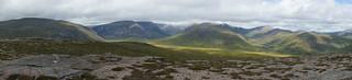 The Cairngorms Mountain Range