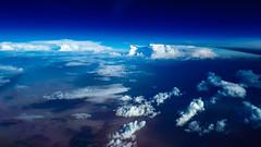 40.000ft (gold.frank) Tags: 40000ft upintheair sky cloud aviation avgeek cloudgeek meteorology amateur photography photographer lovemyjob crew airline pilot cabincrew flightattendant blue