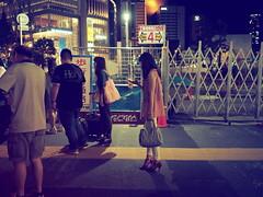 Street at night! (takana1964) Tags: streetphotography streetsnap street streetshot snap snapshot citysnap citystreet city cityphotography osakacity japan olympus omd