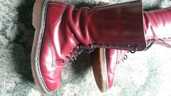 20180305_101011 (rugby#9) Tags: drmartens boots icon size 7 eyelets doc docs doctormarten martens air wair airwair bouncing soles original 14hole lace docmartens dms cushion sole yellow stitching yellowstitching dr comfort cushioned wear feet dm 14 hole cherry indoor 1914 boot footwear shoe macro